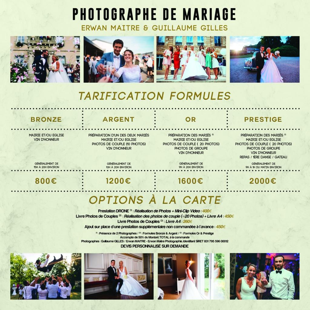 Plaquette Mariage